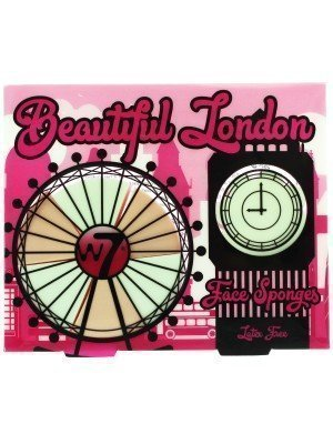 W7 Beautiful London Face Sponges