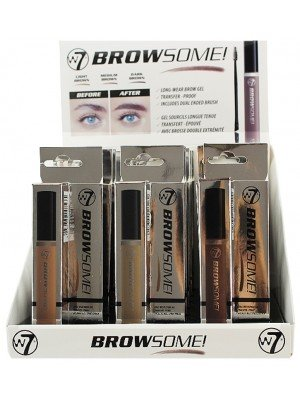 Wholesale W7 Browsome Long Wear Brow Gel - Assorted Shades