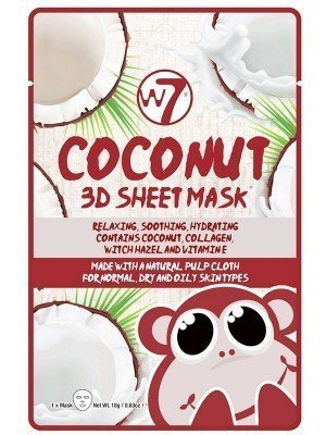 Wholesale W7 Coconut 3D Sheet Mask