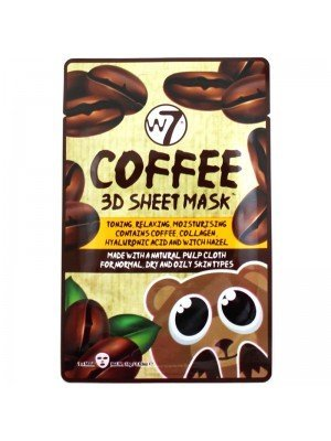 Wholesale W7 Coffee 3D Sheet Mask