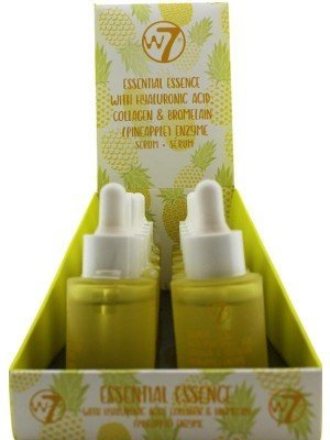 Wholesale w7 Essential Essence With Hyaluronic Acid, Collagen & Bromelain Enzyme Serum-30ml