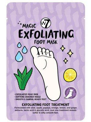 Wholesale W7 Exfoliating Wearable Sock Foot Mask