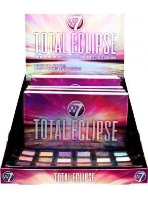 Wholesale W7 Eyeshadow Total Eclipse Pressed Pigment Palette
