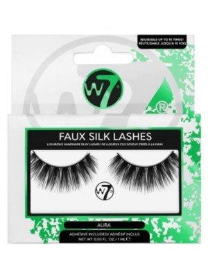 Wholesale W7 Faux Silk Eye Lashes - Aura