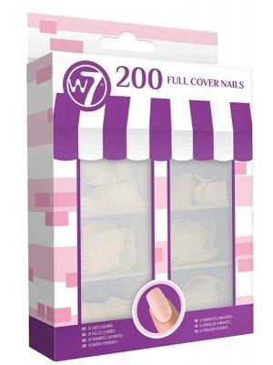 W7 Full Cover Square Nails - 200pcs
