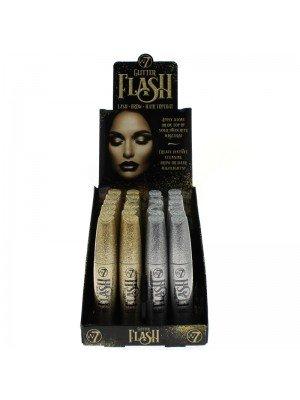 Wholesale W7 Glitter Flash Lash/Brow/Hair Top Coat Mascara