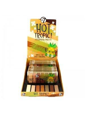 Wholesale W7 Hot Tropic! Eyeshadow Palette