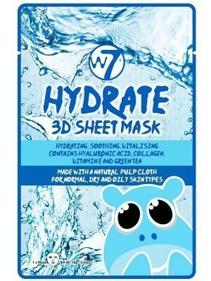Wholesale W7 Hydrate 3D Sheet Mask