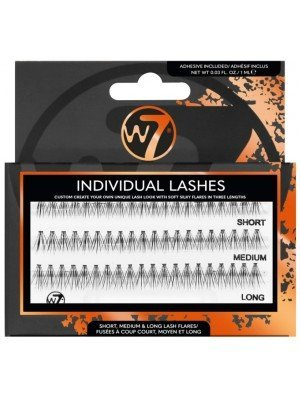 W7 Individual Lashes Pack With Assorted Sizes