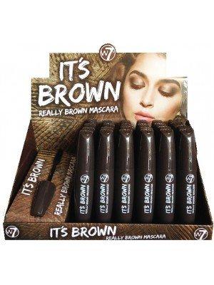 Wholesale W7 It's Brown Mascara