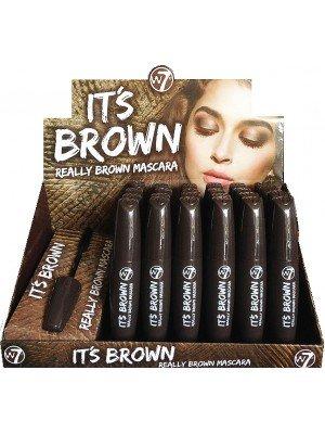 W7 It's Brown Mascara