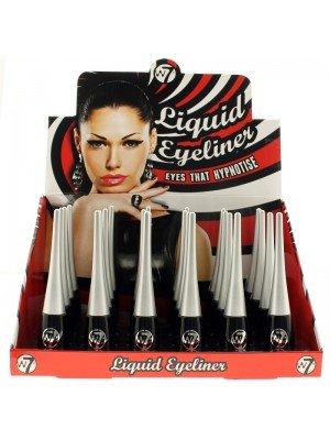 W7 Liquid Eyeliner - Black