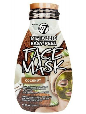 Wholesale W7 Metallic Easy-Peel Coconut Face Mask