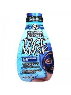 Wholesale W7 Metallic Easy-Peel Hyaluronic Acid Face Mask