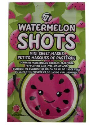 Wholesale W7 Watermelon Shots Mini Sheet Mask