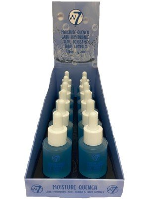 w7 Moisture Quench With Hyaluronic acid,Jojoba & Fruit Complex Serum-30ml