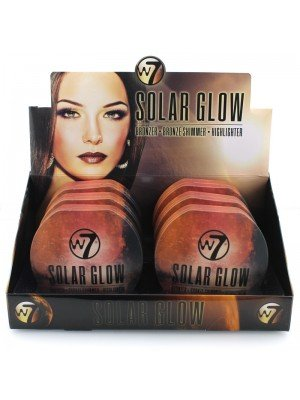 Wholesale W7 Solar Glow Bronzer & Highlighter