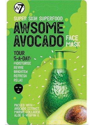 Wholesale w7 Super Skin Superfood Avocado Face Mask