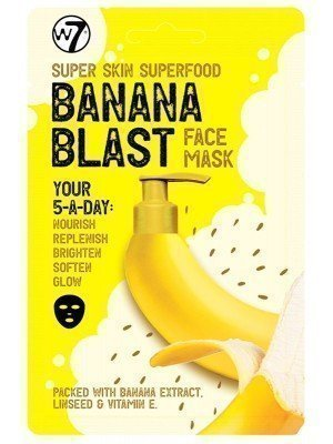 Wholesale w7 Super Skin Superfood Banana Face Mask