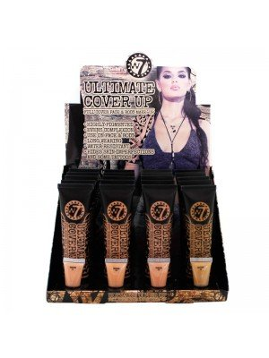 Wholesale W7 Ultimate Cover Up Face & Body Foundation - Deep Assorted