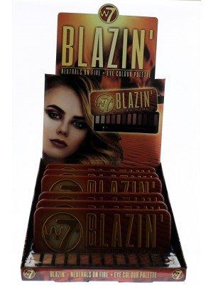 W7 Blazin' Naturals On Fire Eye Colour Palette