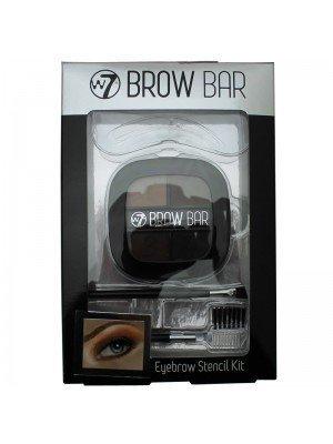 W7 Brow Bar Eyebrow Stencil Kit