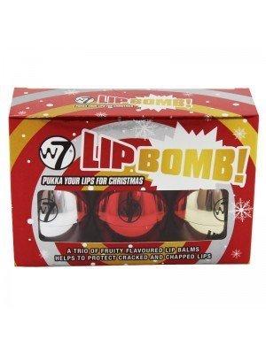 W7 Lip Bomb - 3 Lip Balms