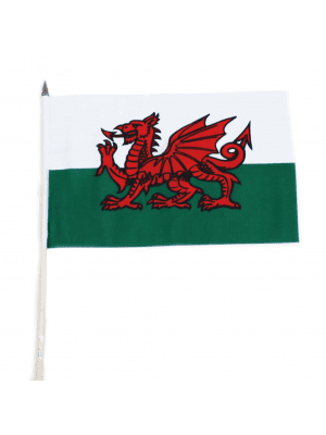 "Wholesale Wales Hand Flag - 12"" x 18"""