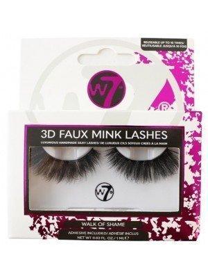 Wholesale W7 3D Faux Mink Lashes - Walk Of Shame