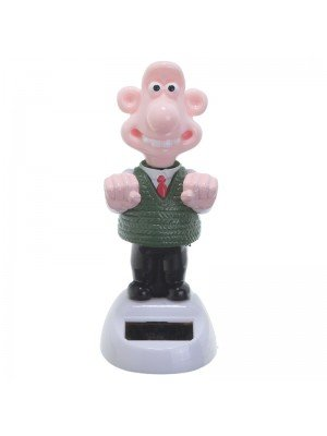 Wallace and Gromit Solar Pals - Wallace - 13cm