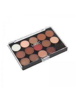 Laroc 15 Colour Eyeshadow Palette - Warm Tones