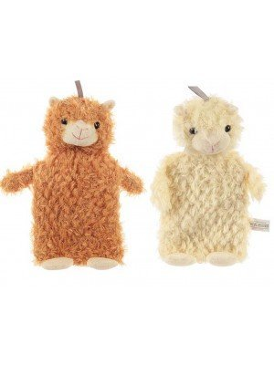 Llamapalooza Llama Hot Water Bottles with Plush Cover