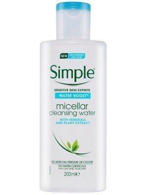 Simple Water Boost Micellar Cleansing Water - 200ml