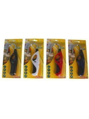 Clipper Wave Flexible Utility Lighters - Assorted Colours
