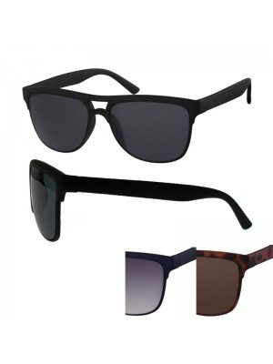 Wayfarer Sunglasses - Double Bridge (Assorted Colours)