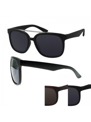 Wayfarer Sunglasses With Extra Panel - Assorted Colours