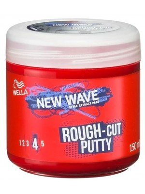 Wella New Wave Re-mouldable Rough Cut Putty - 150ml