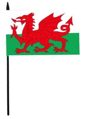"Wales Hand Flag - 12"" x 18"""