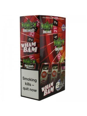 Wholesale Juicy Jay's Double Wrap - Wham Bam