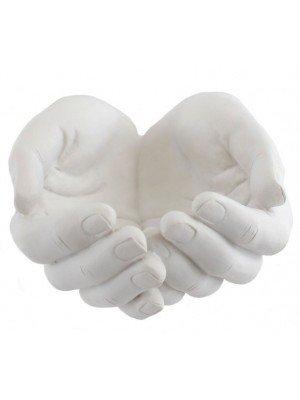 Wholesale White Healing Hands Ornament Figurine