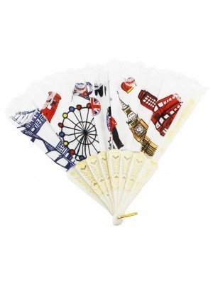 Wholesale White Peacock Fan - London Design