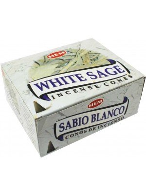 Wholesale Hem Incense Cones - White Sage