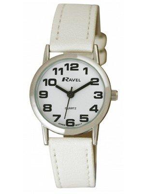 Wholesale Ravel Ladies Round Classic Watch - White