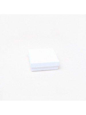 White Gift Box - 9x9x3cm