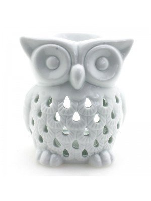 Wholesale White Owl Ceramic Oil Burner
