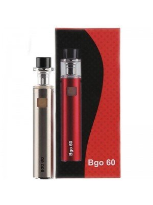 Wholesale Jomo Tech BGO 60 Electronic Cigarette Kit - Silver