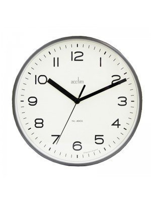 Wholesale Acctim Runwell Wall Clock - Grey