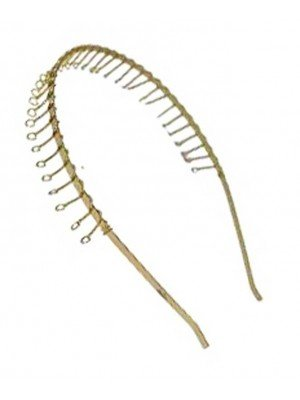 Wholesale Metal Alicebands With Wire Comb (1.5cm)