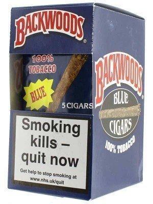 Backwoods Cigars Full Box - Blue (40 Cigars)