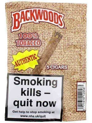 Backwoods Cigars - Authentic (5 Cigars)